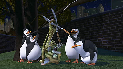 Penguins Of The Madagascar